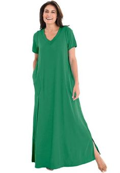 b6763789c26 Dreams Women`s Plus Size Maxi Lounger - Listing price   44.77 Now   26.77