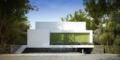 WASZE PROJEKTY: Dom za zieloną zasłoną
