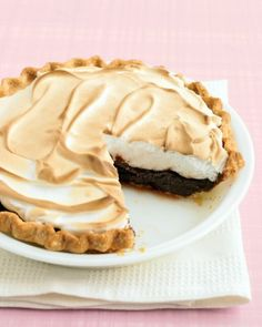 See the Chocolate Meringue Pie in our Thanksgiving Pies gallery