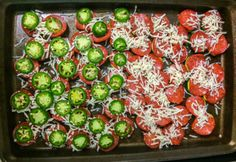 Healthy Zucchini Pizza Bites - low carb, skinny, healthy, and yummy!