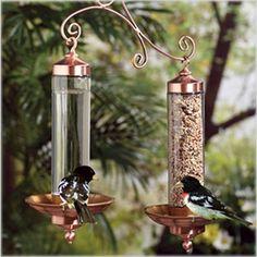 Perky-Pet® Copper Sip & Seed Bird Feeder.  #fågelmatare