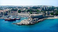 Riche d'histoire, l'île des Chevaliers, à Rhodes, abrite la vieille ville et son port entourés de fortificationsRetrouvez d'autres photos dece membre