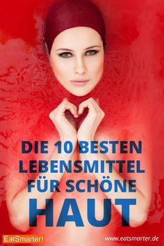 10 Lebensmittel für schöne Haut You can cream your face and hands generously, but proper nutrition is also important for the supply of the largest organ of the human body. EAT SMARTER presents the top 10 foods for beautiful skin: eatsmarter. Diy Beauty Nails, Hair Beauty, Health And Beauty, Health And Wellness, Beauty Care, Beauty Hacks, Facial Warts, Goji, Natural Smokey Eye