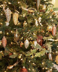 nature christmas tree love the idea of decorating in a nature theme - Natural Christmas Tree