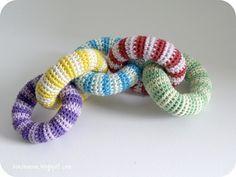Crochet Home Decor, Crochet Crafts, Crochet Projects, Newborn Crochet, Crochet Baby, Handmade Baby, Handmade Toys, Crochet Cat Toys, Kit Bebe