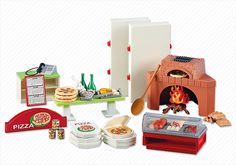 Pizzeria - PM France PLAYMOBIL® France