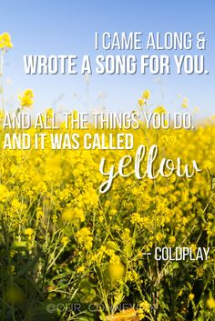 Coldplay #love #quote Facebook.com/ourconnexion