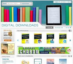 """Digital Downloads"" our FREE digital database - > 25,000 eBooks and > 10,000 audiobooks  - CHECK IT OUT!"