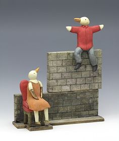 Wall of Promises Puppets, My Images, Smurfs, Clay, Sculpture, 3d, Paper, Artwork, Animals