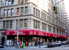 Strand Book Store, 828 Broadway (East Village) | 44 Amazing NYC Places That Actually Still Exist