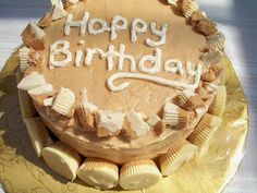 Brooke Bakes : White Chocolate Peanut Butter Cake