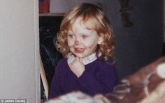 Adele looks like she's been 'Rolling In The.Paint' in this childhood photograph. Adele Child, Adeles Baby, Adele Wallpaper, Adele Instagram, Adele Love, Young Lyric, Adele Photos, Adele Adkins, Elizabeth Olsen Scarlet Witch