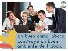 Mantener un buen clima laboral, es un factor indispensable para que las empresas alcancen altos niveles de productividad y objetivos de crecimiento.           www.bistropaloma.com.mx   FACEBOOK                           https://www.facebook.com/bistropaloma                                 TWITTER                                                          https://www.twitter.com/BistroPaloma                        INSTAGRAM…