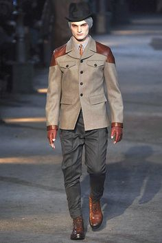 Alexander McQueen Fall 2009 Menswear
