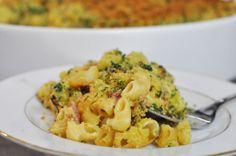 Recette en vidéo des macaroni and cheese par Hervé Cuisine
