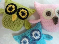 Part 3 Eyes How to Crochet an Owl Very Easy