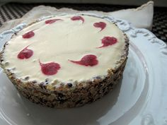 French Fridays with Dorie - Olive Oil Ice Cream Tart with a Quinoa Crust @Divababu