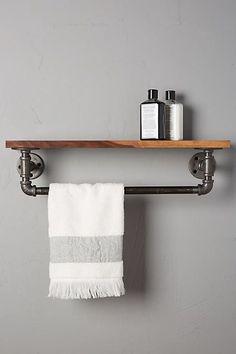 Pipework Towel Rack - anthropologie.com