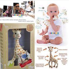 """Girafa Sophie Vulli Na caixa - pronta entrega! 100% borracha natural que estimula os 5 sentidos do bebê.  R$16490 Para comprar escreva """"eu quero"""" Whatsapp (19)99670-0210 direct ou acesse http://ift.tt/2aoJsL9 Também compramos! http://ift.tt/2dzyMwK Nossos produtos podem ser retirados em Indaiatuba/SP. Pagamentos podem ser efetuados por depósito no Itaú cartão de crédito ou débito.  PagSeguro UOL Mercado Pago ou Paypal. contato@piccolibambini.com.br Reservas: em sua maioria as peças são…"""