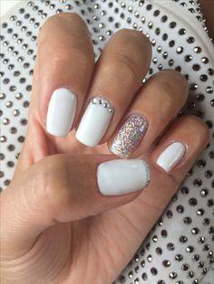 Blanc paillettes ❤ C.F