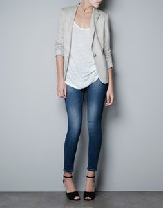 JOGGING BLAZER - Blazers - Woman - New collection - ZARA United States