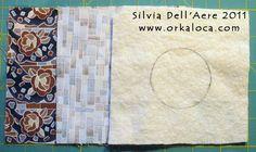 OrkaLoca di Silvia Dell'Aere | HOW to make a hole in a quilt