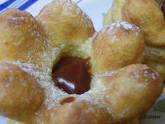 Szánter blogja.: Így sütök rózsafánkot. Pretzel Bites, Doughnut, Ale, Bread, Desserts, Food, Gastronomia, Kitchens, Tailgate Desserts