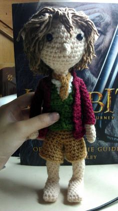 CROCHET - HOBBIT - LORD OF THE RINGS - LOTR - Bilbo Baggins amigurumi