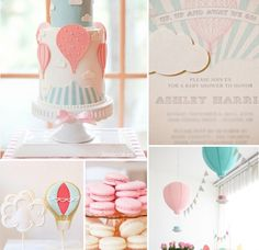 Hot Air Balloon Party Ideas by Cute  Co.