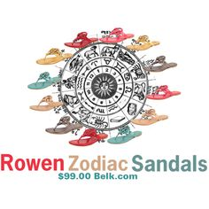 """""""Rowen Zodiac Sandals"""" by cindisarco on Polyvore"""