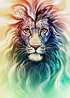 lion and lamb split face drawings 3d Drawings, Animal Drawings, Lion Painting, Lion Wallpaper, Lion Of Judah, Lion Art, Arte Pop, Canvas Prints, Art Prints