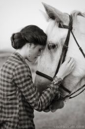 "Never been much of a ""horse girl,"" but there's something really beautiful about this photo"