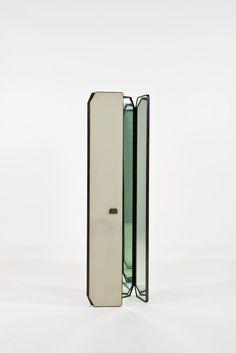 BBPR, Métal, bois et miroir, 1959