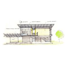 Architectural drawings by Agora architects