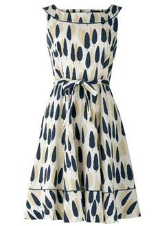 Orla Kiely Alpine Grove Flared Dress