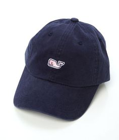 Vineyard Vines Whale Logo Baseball Hat $20 --- for really sunny days or windy boat rides!