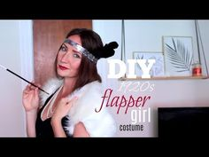 Easy DIY Flapper Girl costume! Takes less than 15 mins to make!