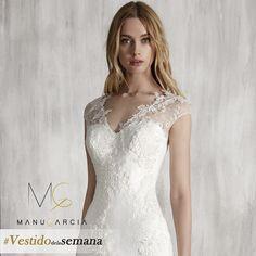 #ModeloMarcela #Vestidodelasemana #ManuGarcia #Escotes #Novias #Vestidodenovia #Novias2018
