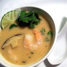 Photo recette : La meilleure soupe thaïlandaise au lait de coco