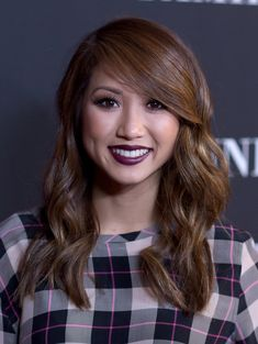 Brenda Song Long Wavy Cut