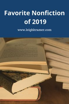 Favorite Nonfiction of 2019 Nonfiction, My Books, Writing, Reading, Non Fiction, Word Reading, The Reader, Being A Writer, Reading Books