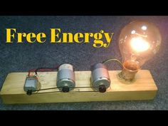 Free Energy Recycling 3 Motors Make A Free Electricity Generator 1000%working New Videos 2018 - YouTube