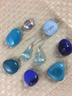 Beautiful earrings by 2sbeachglass make a wonderful teacher's gift or a gift for yourself