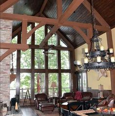 Like great em ans mbr configs - skip lower level and may be within sq ft Vacation Escape with Views - thumb - 12 Mountain Cottage, Mountain House Plans, Mountain Home Exterior, Lakeside Living, Open Living Area, Thing 1, All I Ever Wanted, Log Homes, Timber Homes