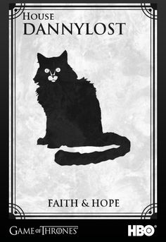 Cree el logo de mi casa al estilo Game of Thrones!!! :D