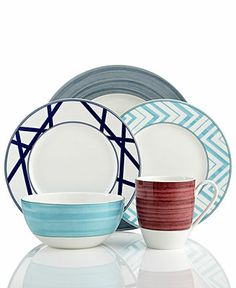 Mikasa Dinnerware, Cadence Mix and Match Collection - Casual Dinnerware - Dining & Entertaining - Macy's