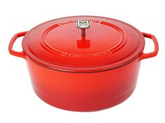 Marquette Castings 6 qt Dutch Oven Iron Red * Check out the image by visiting the link.-It is an affiliate link to Amazon.