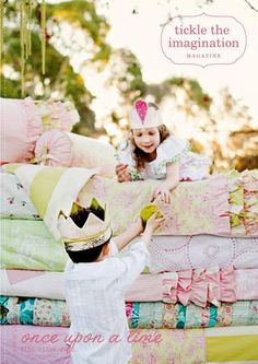 Tickle the Imagination digital magazine on Issuu - 'Once Upon a Time Kids' issue with fairytale inspired crafts and parties