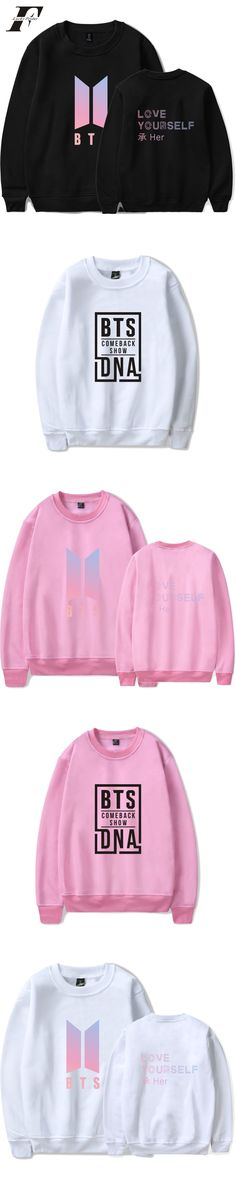 BTS Love Yourself Capless Hoodies Sweatshirts men/men kpop Bangtan boys outwear Hip-Hop Hoodies Album Kpop Clothes xxxxl