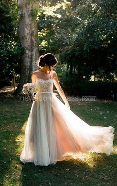 Chiffon&Tulle&Lace&Organza&Satin&Taffeta Dress